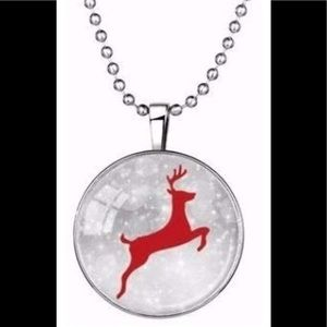 Reindeer Glow Necklace